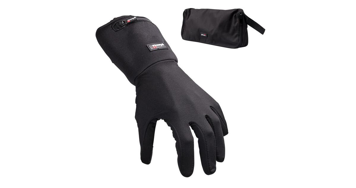 Univerzální vyhřívané rukavice Glovii GL2 - černá - inSPORTline 05d0420dec