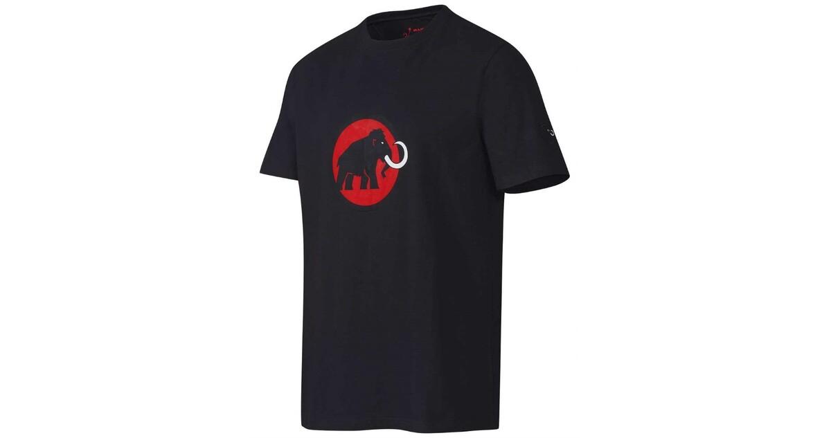 Pánské sportovní tričko MAMMUT - krátký rukáv - černá s červeným logem -  inSPORTline 38866ed363