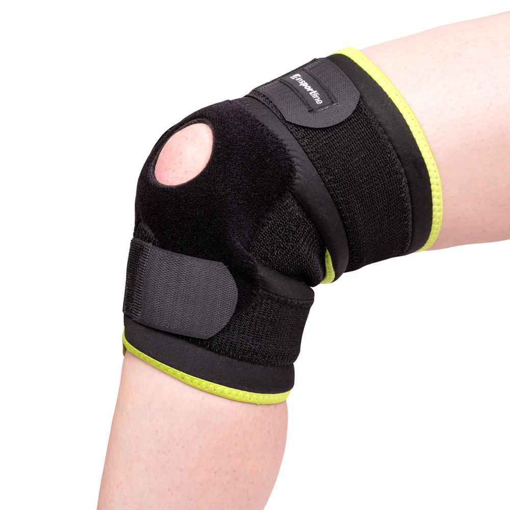 Magnetická bambusová bandáž na koleno inSPORTline - inSPORTline 7db9dfc049