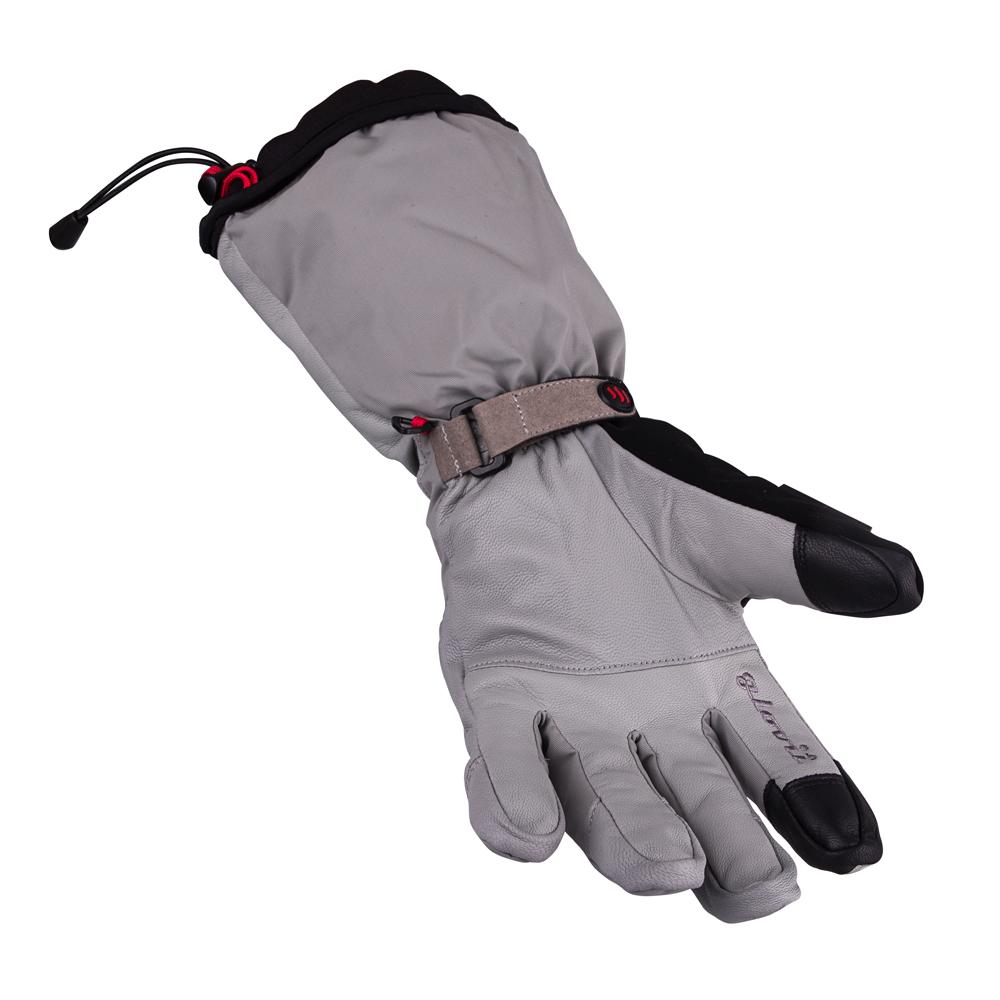 Vyhřívané lyžařské a moto rukavice Glovii GS8 - šedá. Zimní ... 0dc72194ce