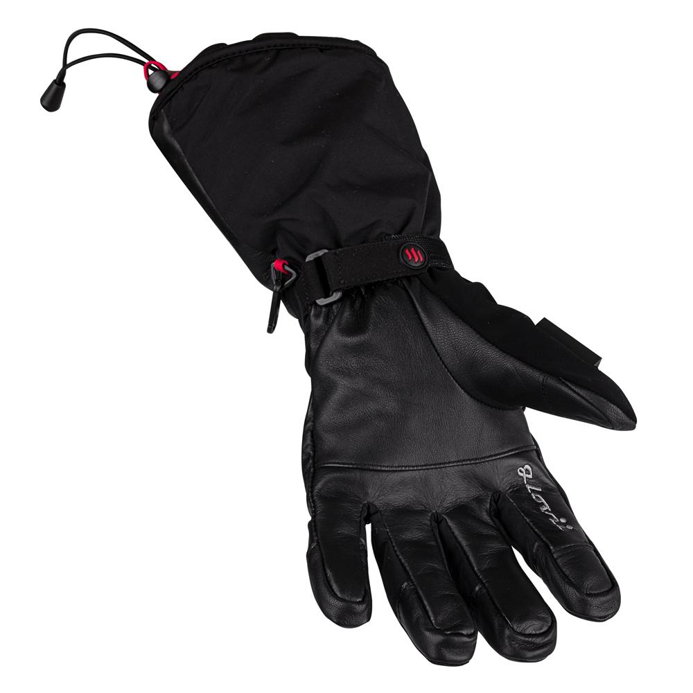 Vyhřívané lyžařské a moto rukavice Glovii GS9 - černá - inSPORTline c503336645