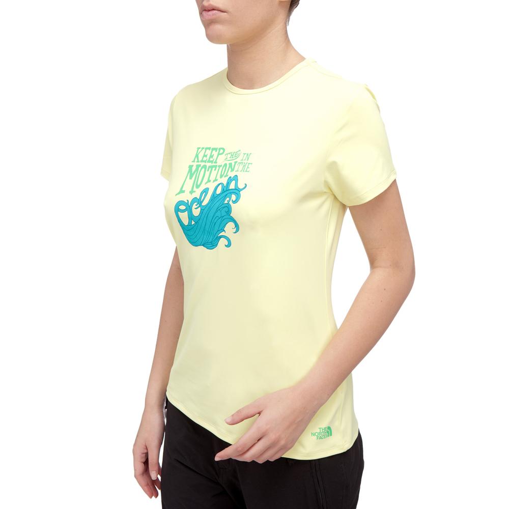 f3235c76a30 Dámské tričko THE NORTH FACE Class V Watershirt - světle žlutá. Kvalitní ...
