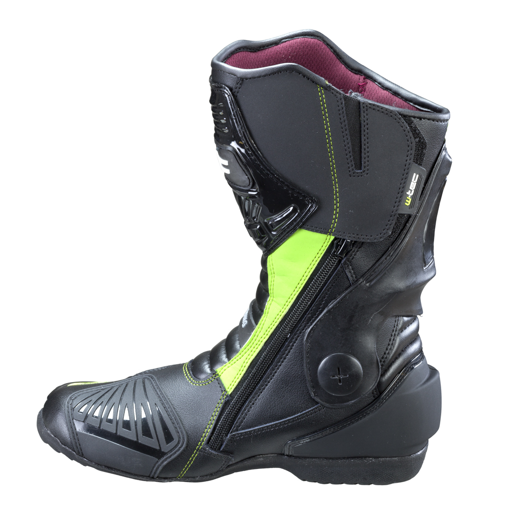 Pánské kožené moto boty W-TEC Brogun NF-6003 - zelená. Vysoké ... c4af1e0ee4