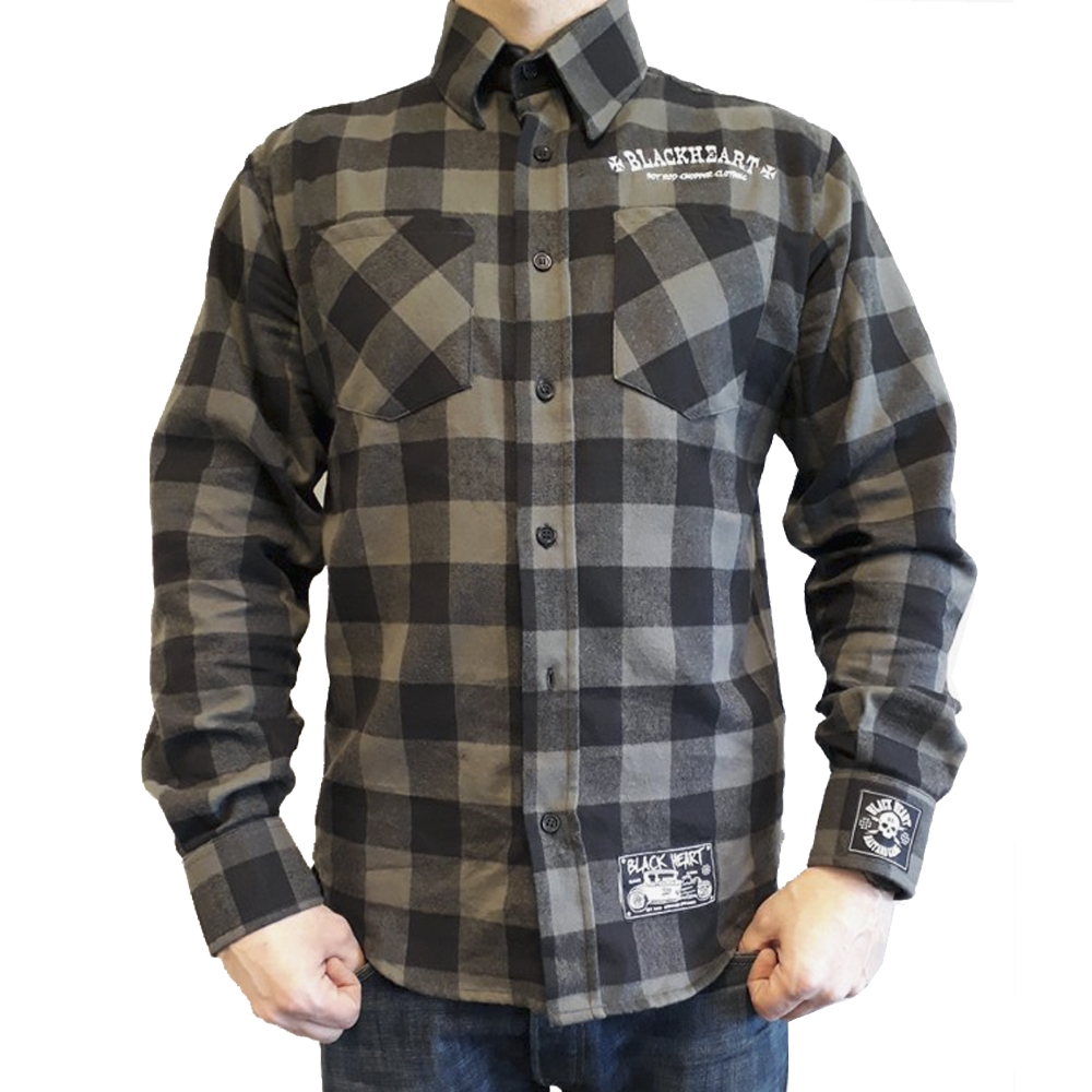 aaf02de9b90 Košile dlouhý rukáv BLACK HEART Duke - inSPORTline