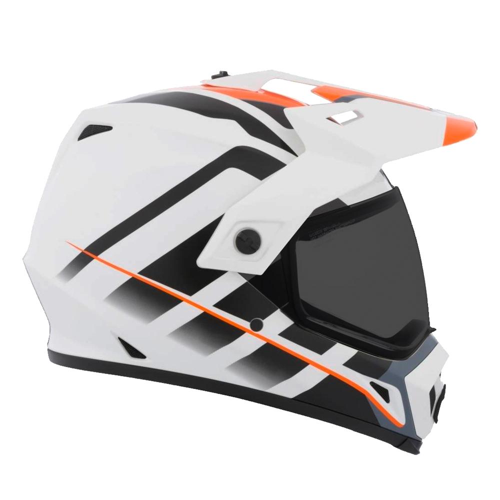 Motokrosová přilba BELL MX-9 Adventure - Raid Orange White - inSPORTline 521a30dfaa