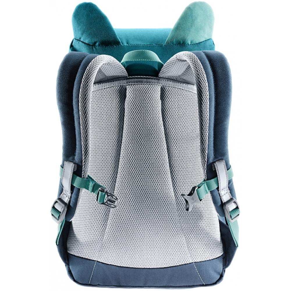 Dětský batoh DEUTER Kikki - alpinegreen-forest. Polstrovaná záda ... 2031ecd1c1