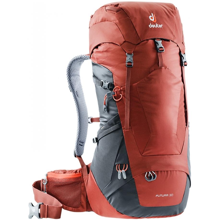4e3fe528c1 Turistický batoh DEUTER Futura 30 - arctic-denim. Prodyšný ...