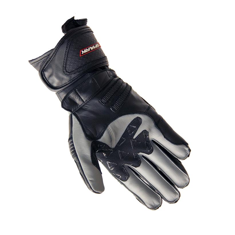 Kožené moto rukavice Spark Modena - inSPORTline 4235e067c4