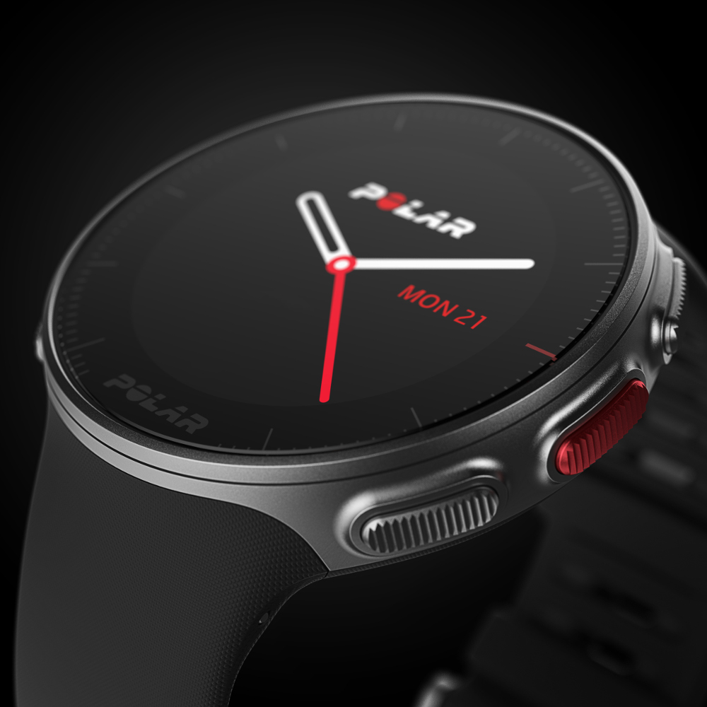 Sportovní hodinky POLAR Vantage V HR. Profesionální sporttester ... c9c23fbfda8