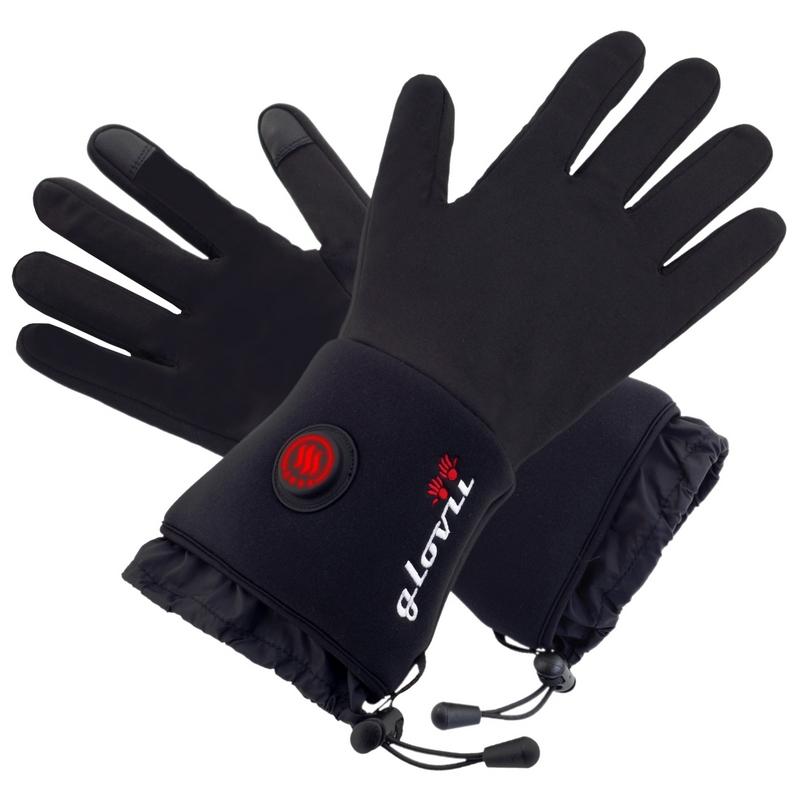 Univerzální vyhřívané rukavice Glovii GL - inSPORTline 78a54d4a35