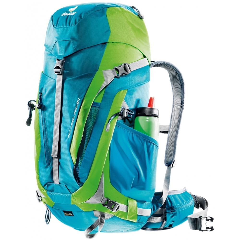 58bd746f3b4 Turistický batoh DEUTER ACT Trail PRO 40 - modrá. Ideální ...