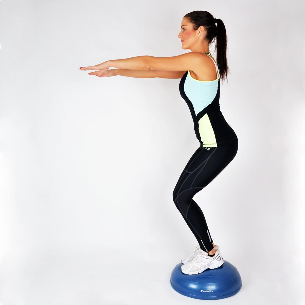 Cvičenie na balančnej podložke