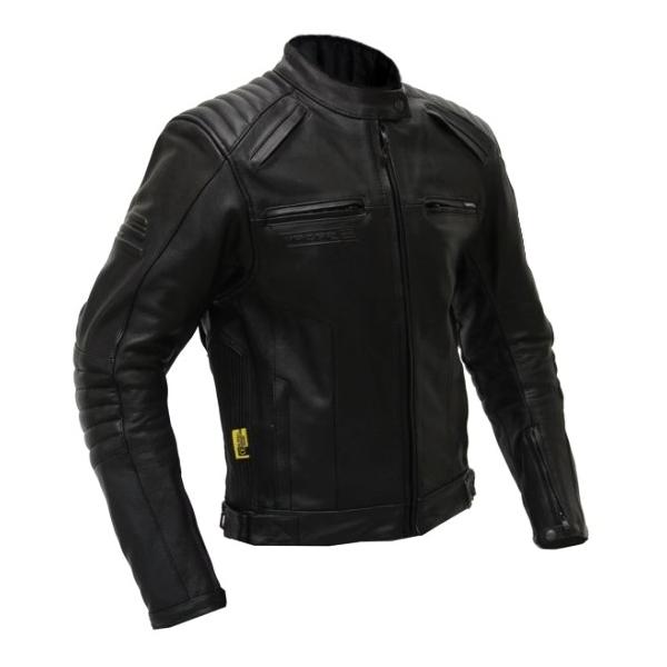 Moto bunda Spark Brono - černá. Kožená univerzální ... 51d16f54763