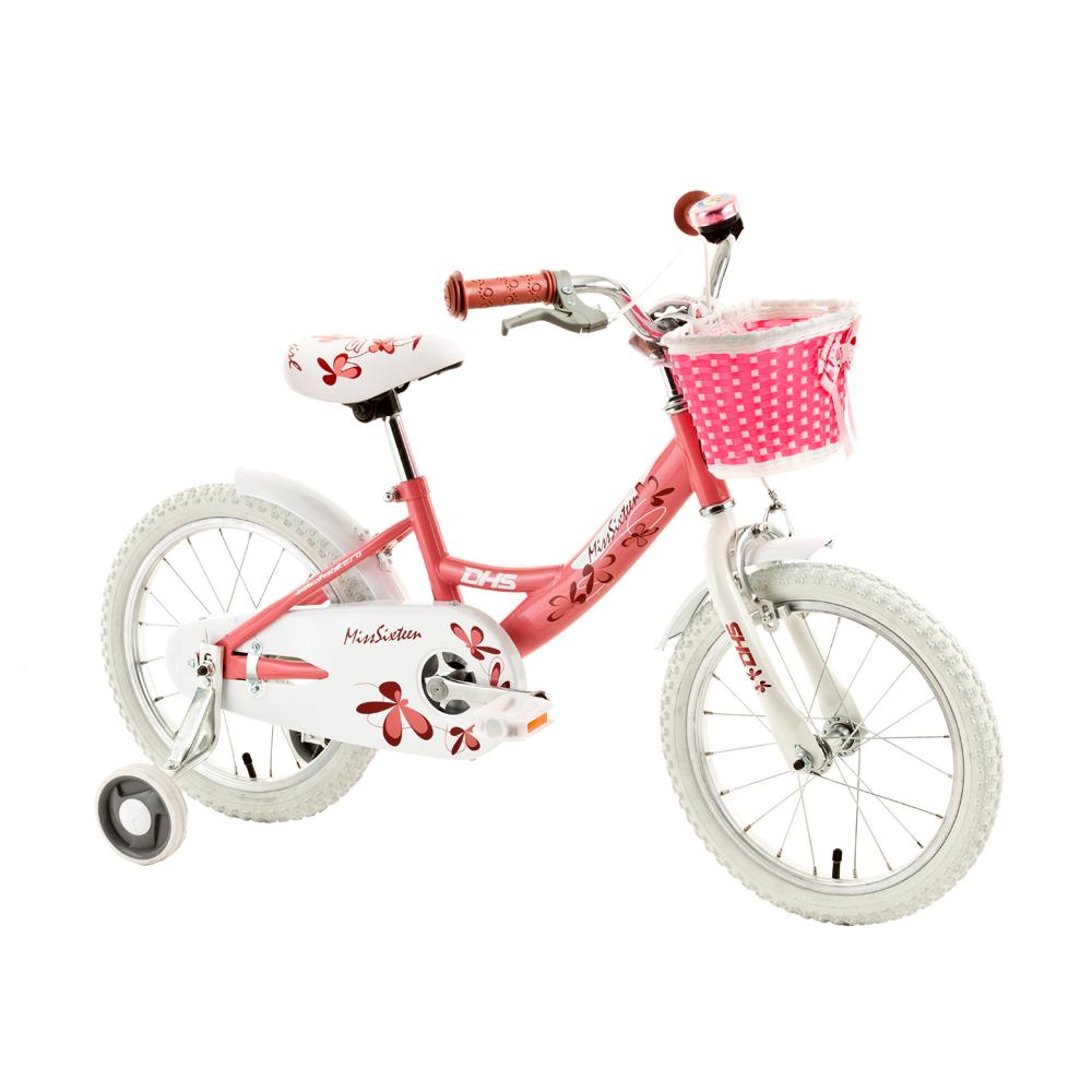 "Detský bicykel DHS Miss Sixteen 1602 16"""