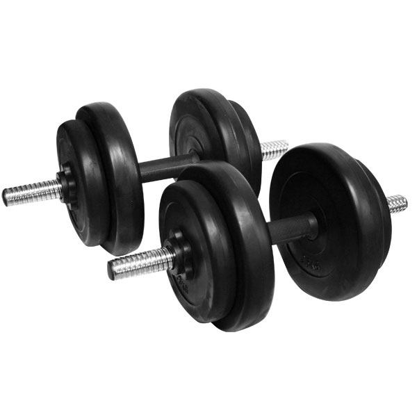 Jednoručný nakladací činkový set inSPORTline DBS2181 2x3-10 kg