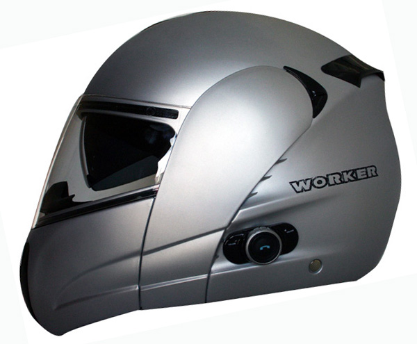 Moto přilba WORKER V210 Bluetooth + Interkom - 2.jakost - inSPORTline b1a4be4e6e