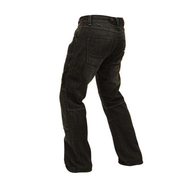 Pánské jeansové moto kalhoty Spark Track - inSPORTline 2599b9a96f