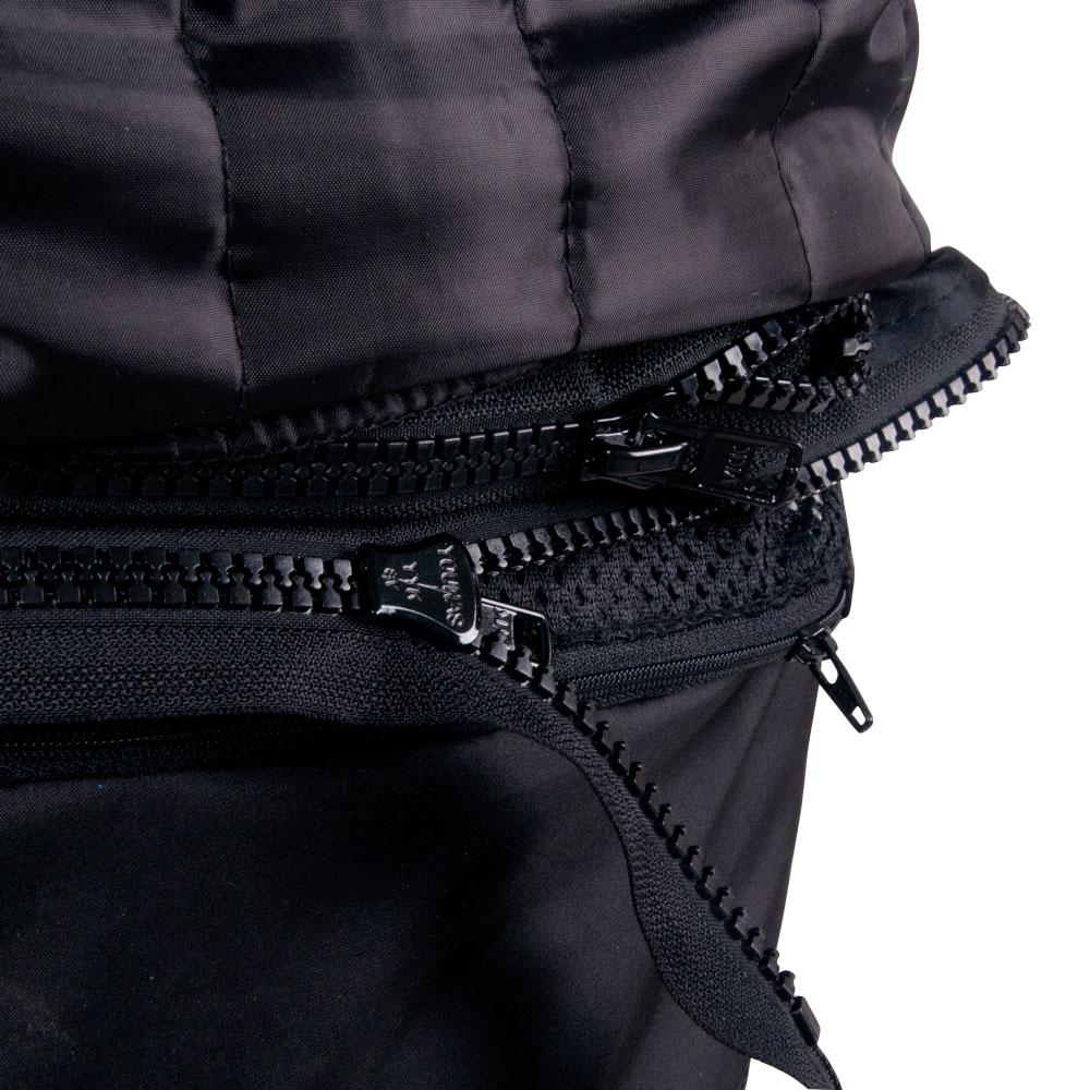 Pánská kožená moto bunda W-TEC Velocity - černá-fluo. Kožená bunda ... ab0a1c3ac4a