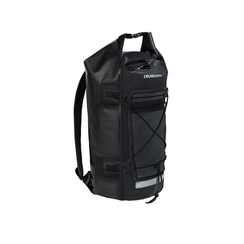 Nepromokavý batoh Rebelhorn Rollbag - černá - inSPORTline f33c12bc76