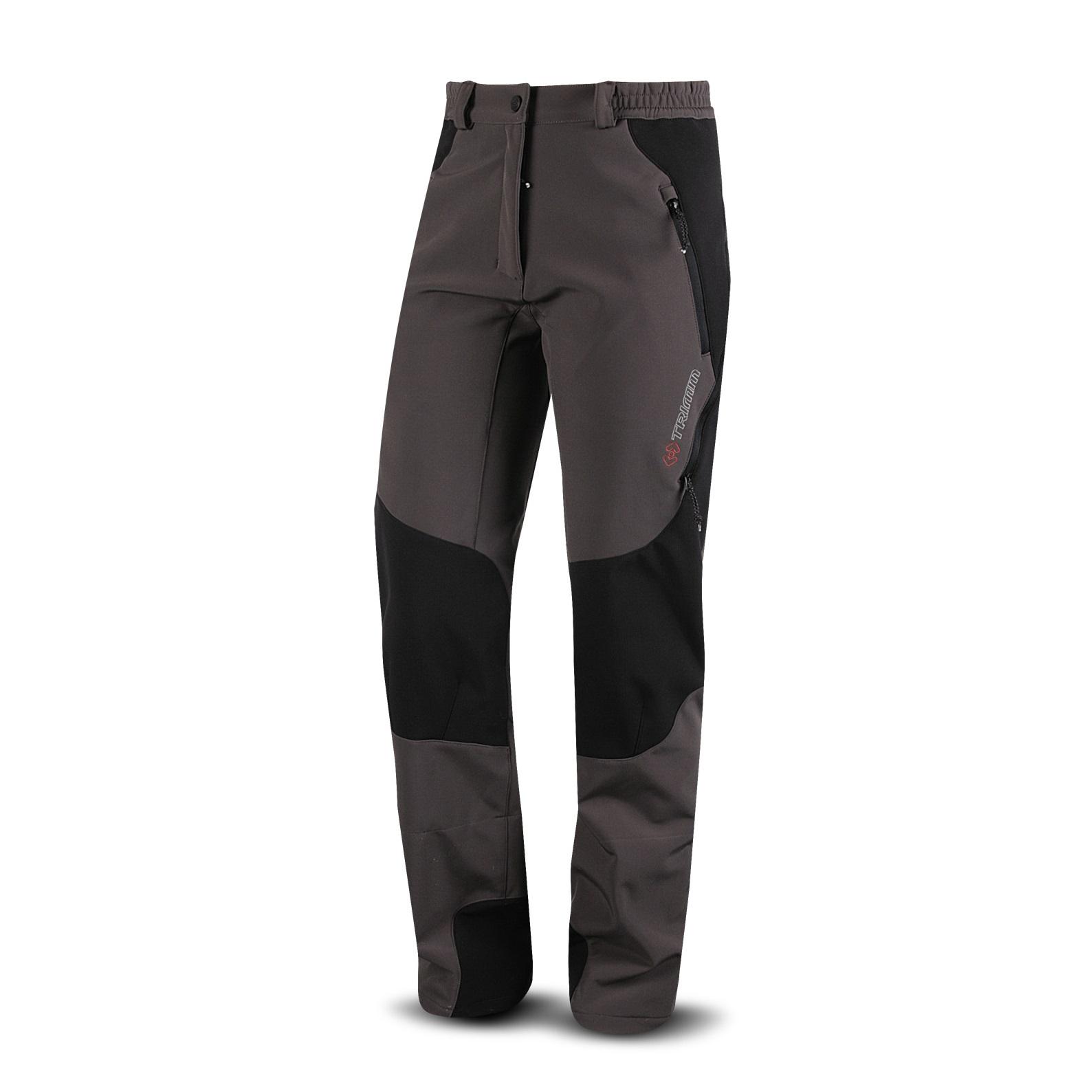 0689c27e22d Kalhoty Trimm GUIDE lady softshell - hnědá. Moderní dámské softshellové  kalhoty ...