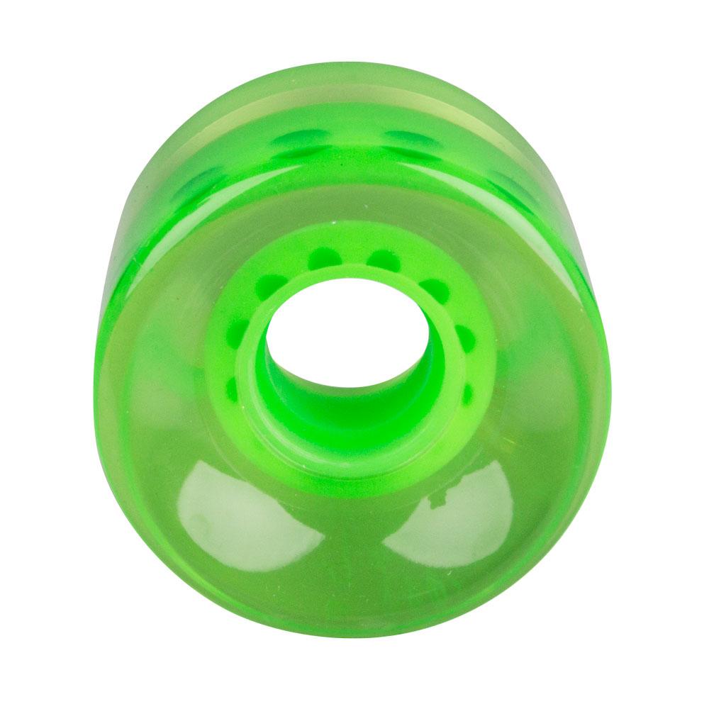 f9f811d95b Průhledné kolečko na penny board 60 45 mm - zelená - inSPORTline
