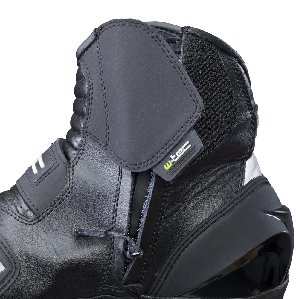 Pánské kožené moto boty W-TEC Tochern NF-6032 - černá. Kožené boty ... f090df95c1