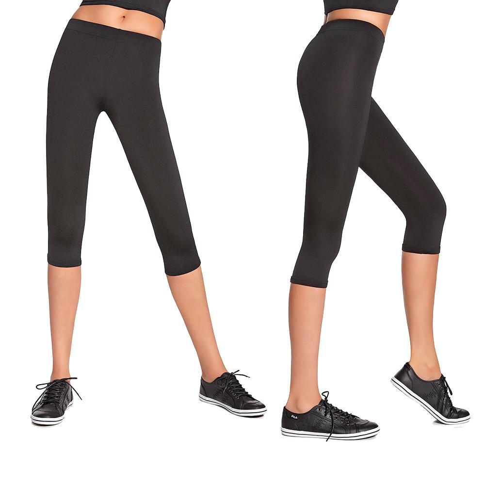 Dámské sportovní 3 4 kalhoty BAS BLACK Forcefit 70 471ed39cae
