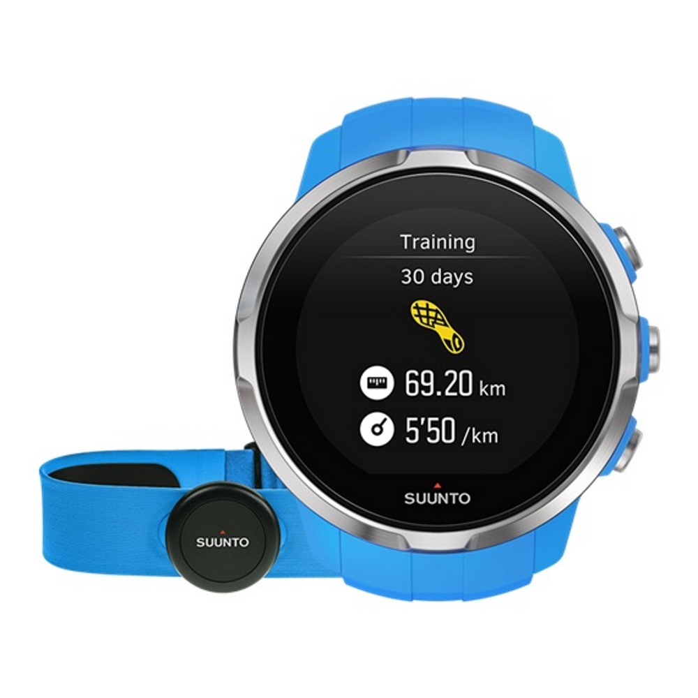 Sportovní hodinky SUUNTO Spartan Sport Blue HR - inSPORTline 3e92aef8be