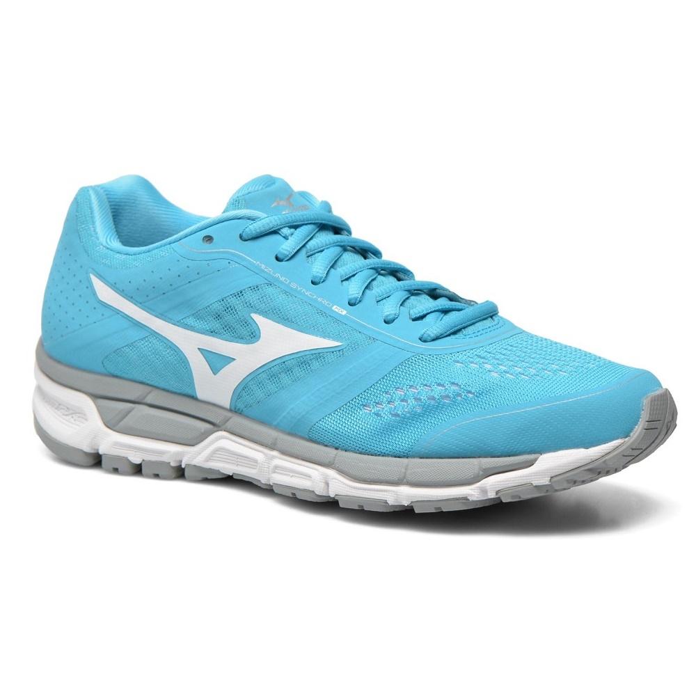 4f6a4118430 Dámské běžecké boty MIZUNO Synchro MX - BlueAtoll White Silver