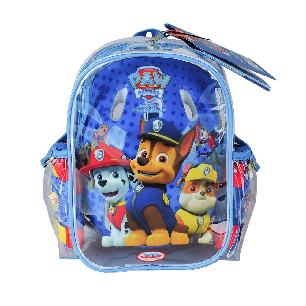 afd20771e48 Sada chráničů a helmy Paw Patrol s taškou - inSPORTline
