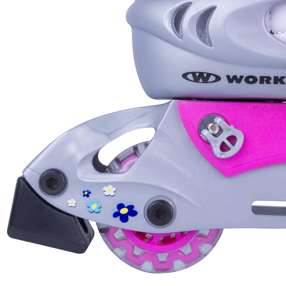 Dětská sada WORKER Polly LED - se svítícími kolečky - inSPORTline a13550e0dc