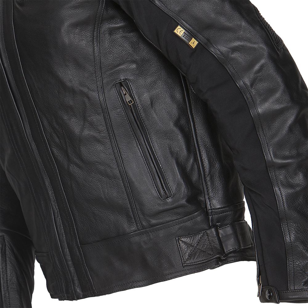 Pánská kožená moto bunda W-TEC Mardok NF-1121 - černá - inSPORTline ff68607990