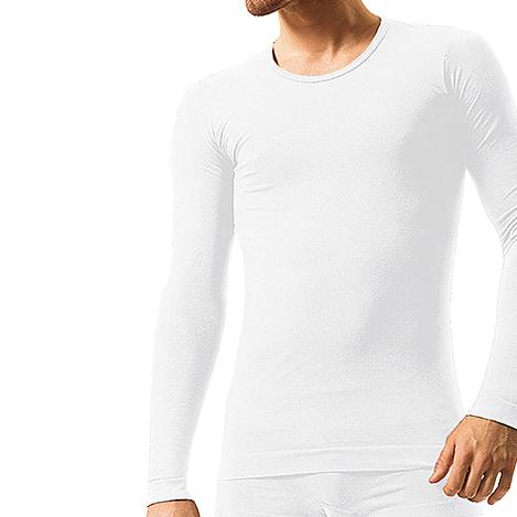 Pánské bezešvé bavlněné tričko Brubeck - dlouhý rukáv - černá. Vysoce ... f2dee45d44