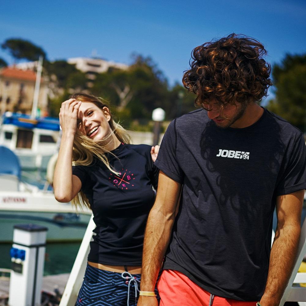 627d06878bcb Pánské tričko pro vodní sporty Jobe Rashguard Loose Fit - červená. Kvalitní  materiál ...