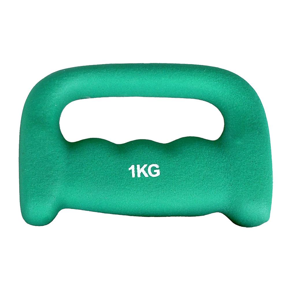 Neoprénová jednoručná činka inSPORTline Jogging 1 kg