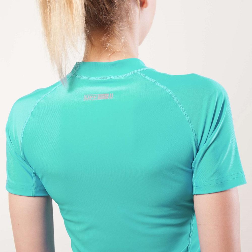 Dámské tričko pro vodní sporty Aqua Marina Alluv - modrá. Elastický  materiál ... 2191f2b309