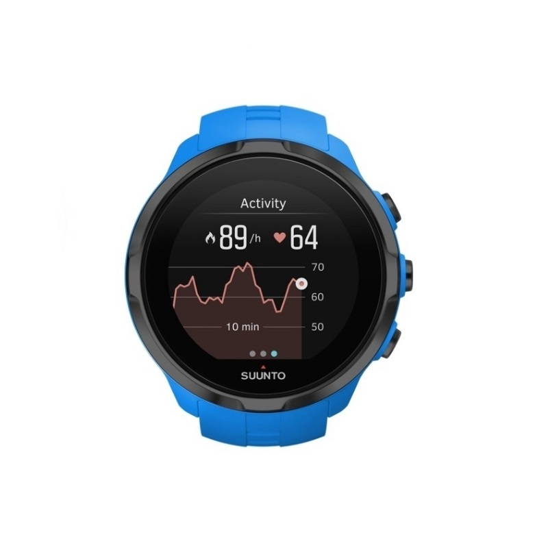 8b3aa2026 Sportovní hodinky SUUNTO Spartan Sport Wrist HR Blue - inSPORTline