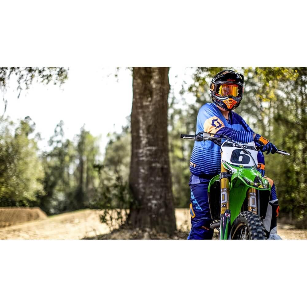 Motokrosový dres SCOTT 350 Track MXVII - Black-White - inSPORTline 9c7d12054f