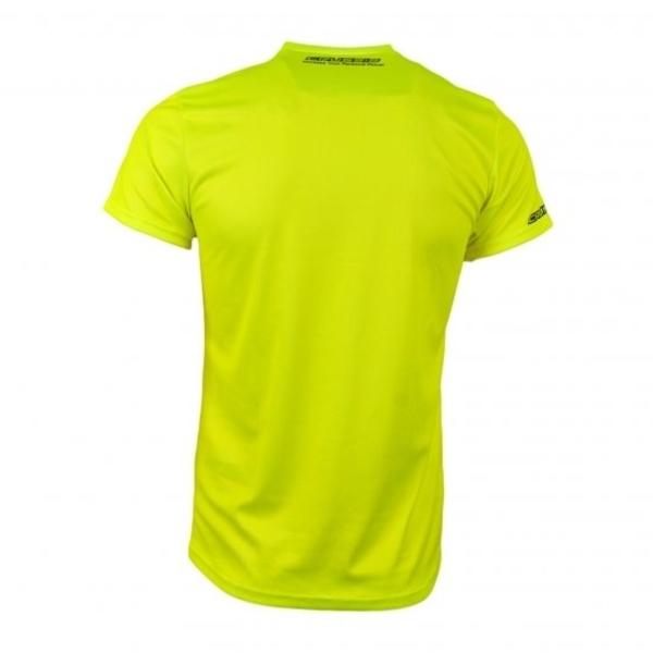 7174ede3ce07 Pánské triko s krátkým rukávem CRUSSIS fluo žluté - inSPORTline