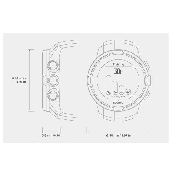 4fc3a890e4a Sportovní hodinky SUUNTO Spartan Sport Sakura HR. Propojení ...