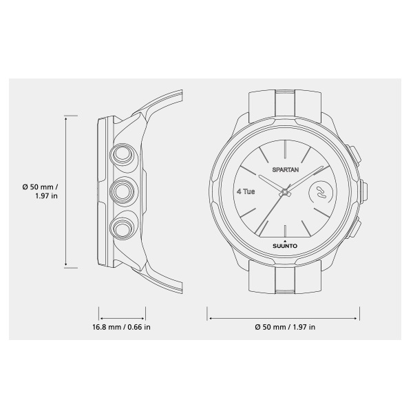 98f0ced60b6 Sportovní hodinky SUUNTO Spartan Sport Wrist HR Sakura. Měření tepu ze  zápěstí