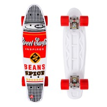 Městský cruiser Street Surfing POP BOARD Souper Black Dot