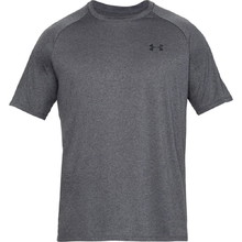 Pánské triko Under Armour Tech SS Tee 2.0 - Carbon Heather