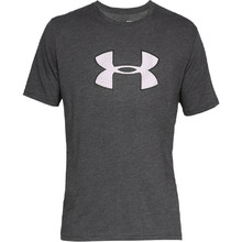 Pánské triko Under Armour Big Logo SS - Charcoal Medium Heather