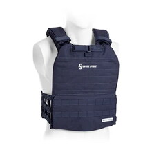 Zátěžová vesta Capital Sports Battlevest 2.0 2 x 4 kg - modrá