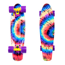 "Penny board WORKER Colory 22"" - duhová"