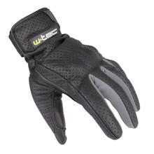 Letní kožené moto rukavice W-TEC Nyarra NF-4150 - šedá 4e8de1fc36