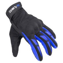 Moto rukavice W-TEC Hirshla GS-9044 - modro-černá 0acd527e6a