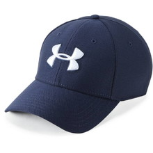 Kšiltovka Under Armour Men's Blitzing 3.0 Cap - Midnight Navy/Graphite/White