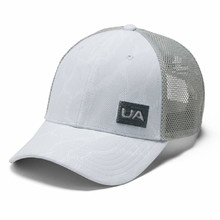 Kšiltovka Under Armour Men's Blitzing Trucker 3.0 - Halo Gray